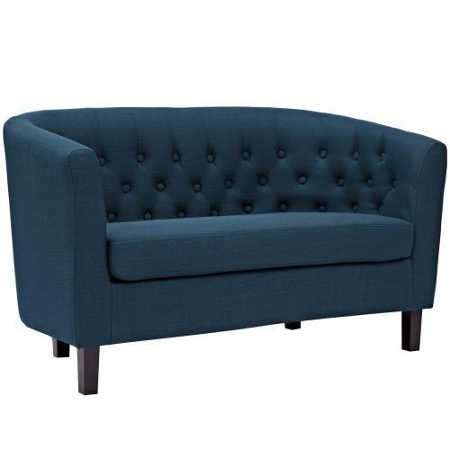 Prospect Upholstered Fabric Loveseat