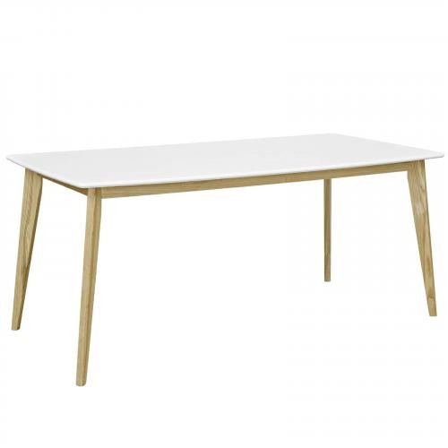 "Stratum 71"" Dining Table in White"