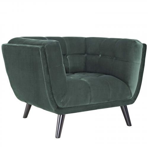 Bestow Velvet Armchair