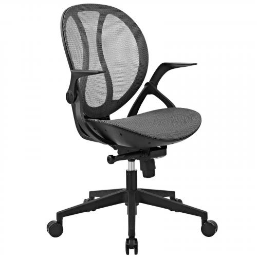Conduct Mesh Office Chair in Gray