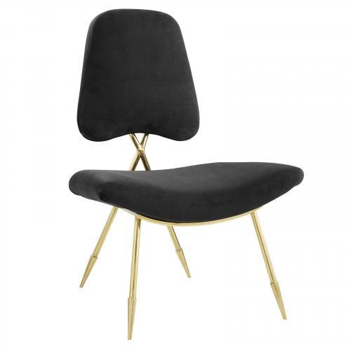 Ponder Upholstered Velvet Lounge Chair