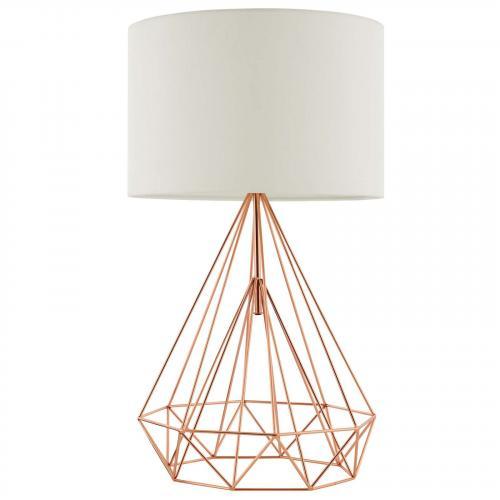 Precious Rose Gold Table Lamp