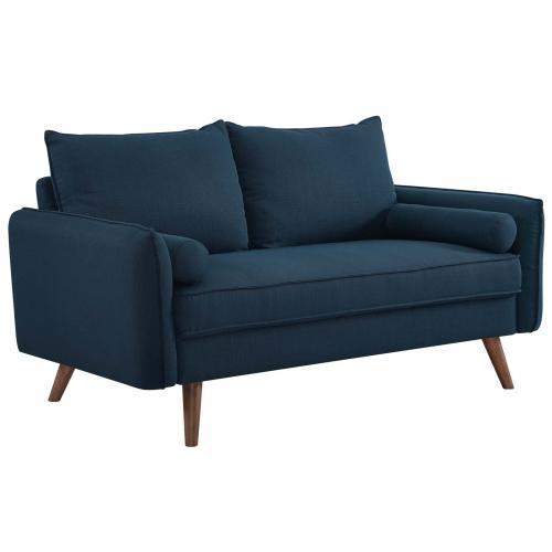 Revive Upholstered Fabric Loveseat