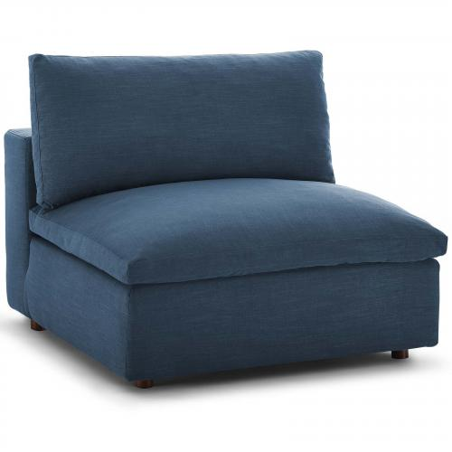 Commix Down Filled Overstuffed Armless Chair