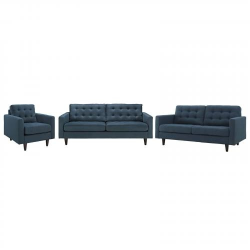 Empress Sofa, Loveseat and Armchair Set of 3