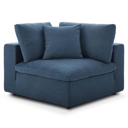 Commix Down Filled Overstuffed Corner Chair