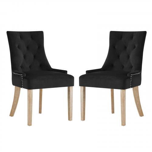 Pose Dining Chair Velvet Set of 2