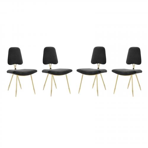 Ponder Dining Side Chair Set of 4