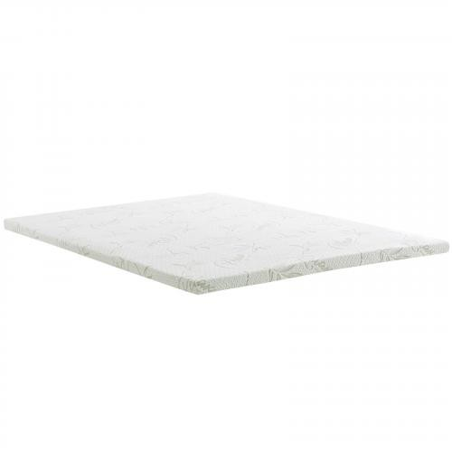 "Relax King 2"" Gel Memory Foam Mattress Topper"