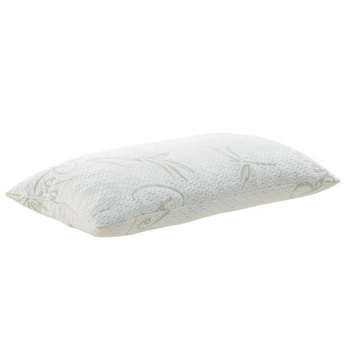 Relax King Size Pillow in White