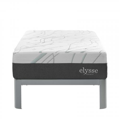"""Elysse Twin Certified Foam 12"""" Gel Infused Hybrid Mattress"""