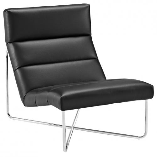 Reach Lounge Chair in Black