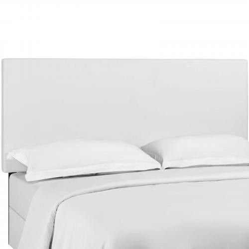 Taylor Full / Queen King Upholstered Faux Leather Headboard