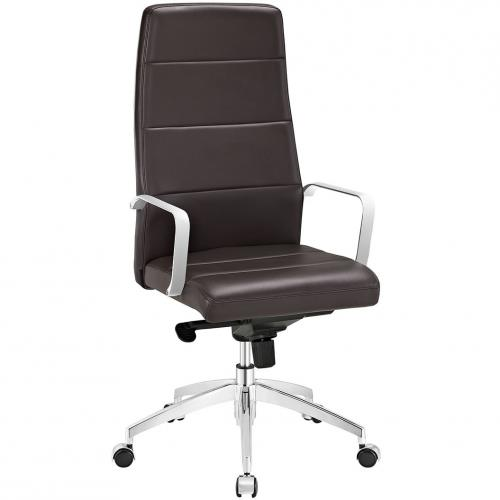 Stride Highback Office Chair in Brown