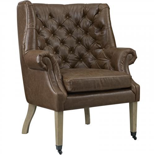 Chart Vinyl Lounge Chair