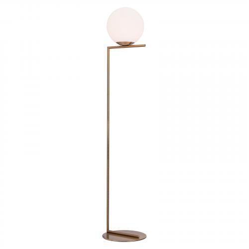 Belair Floor Lamp in Brass