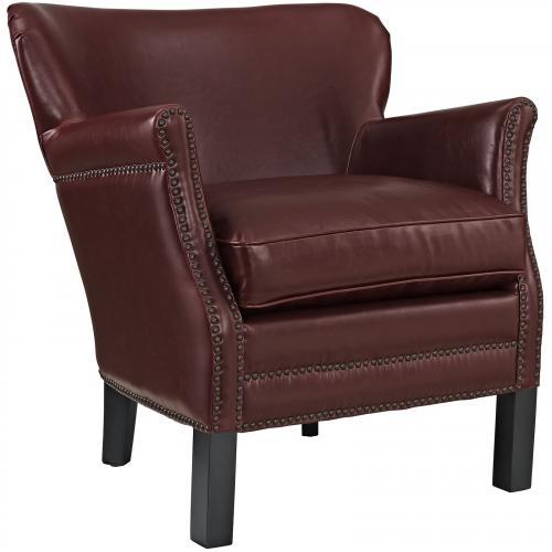 Key Armchair in Dark Brown