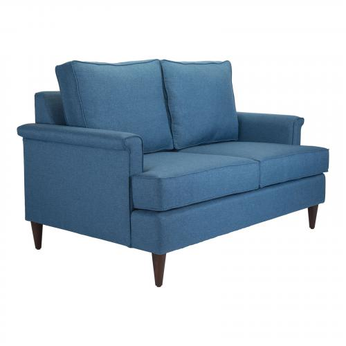 Campbell Loveseat in Blue