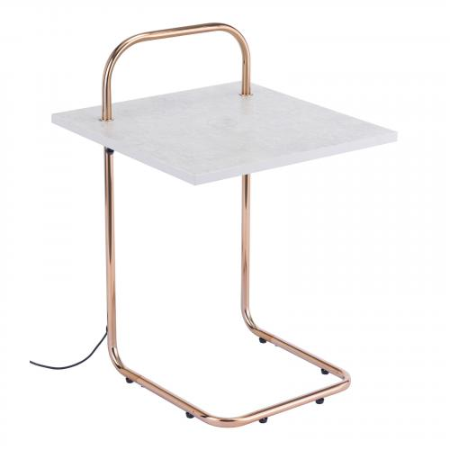 Essex Wireless Charging Side Table