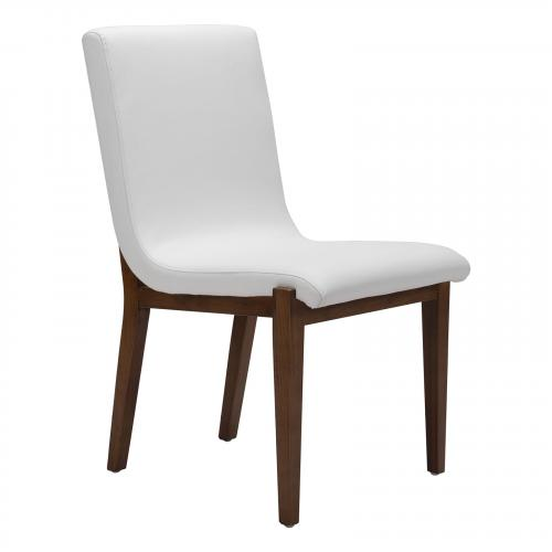 Hamilton Dining Chair Set of 2 in White