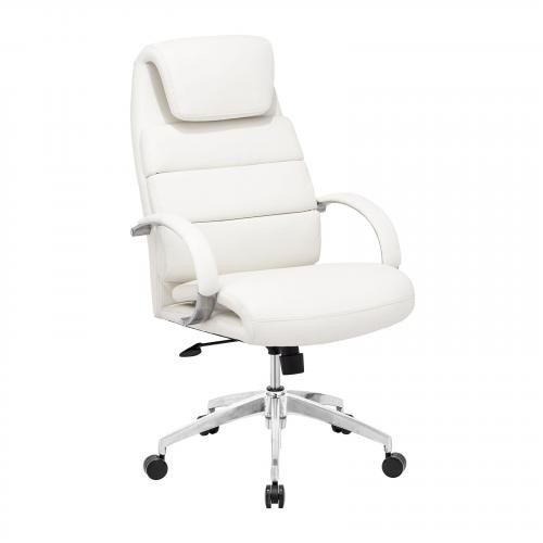 Lider Comfort Office Chair in White