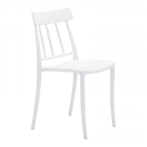 Rift Dining Chair Set of 2 in White
