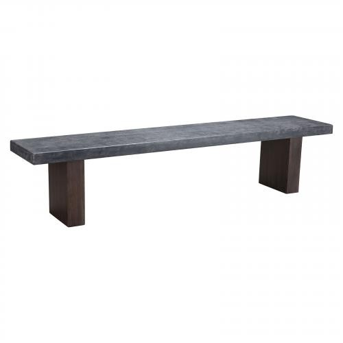 Windsor Bench in Cement & Natural