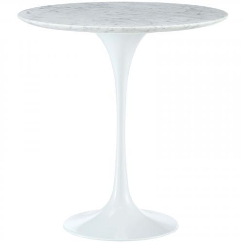 "Lippa 20"" Marble Side Table"