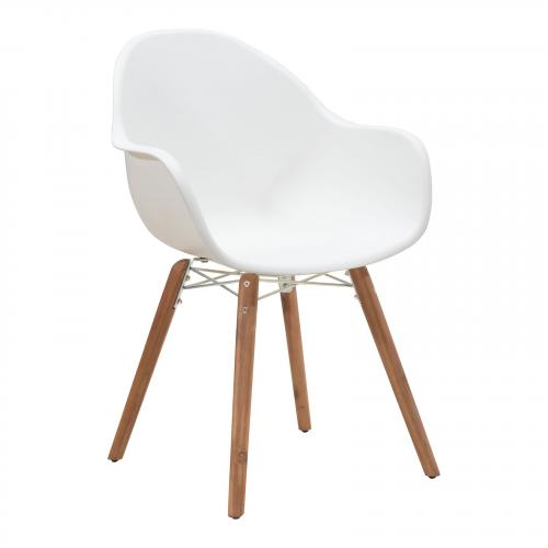 Tidal Dining Chair Set of 4 in White