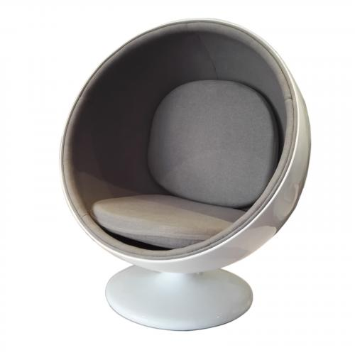 Ball Chair in Gray