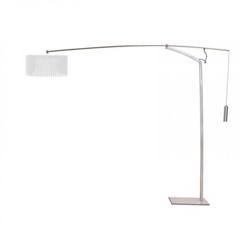 Ell Floor Lamp in Silver