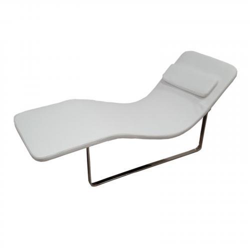 Longa Chaise in White