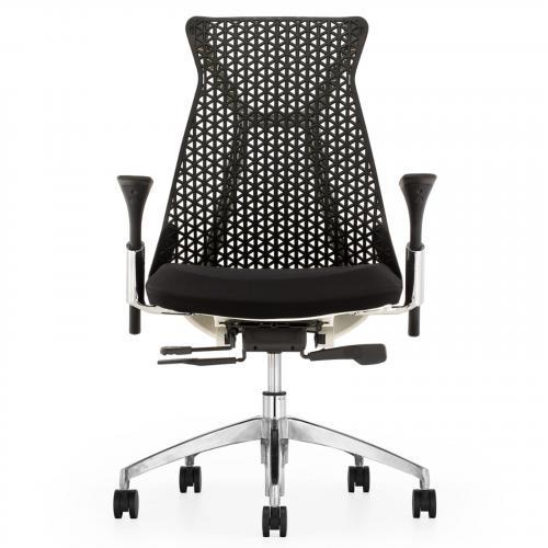 Santer Office Chair Flex Back in Black