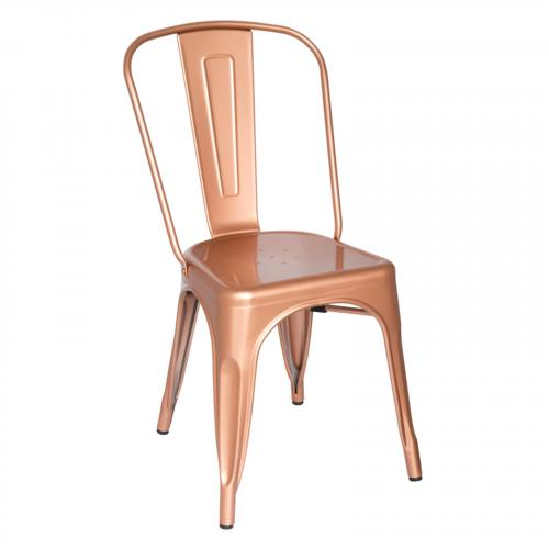 Talix Chair in Copper