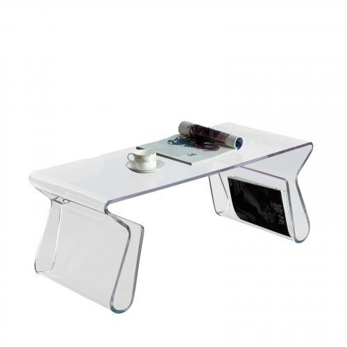 Magazine Acrylic Coffee Table