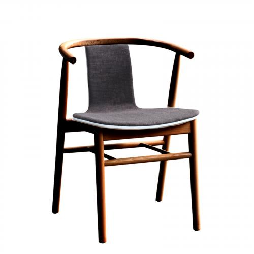 Wishflat Dining Side Chair in Walnut