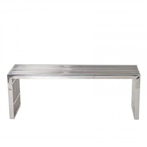 Gridiron Medium Stainless Steel Bench