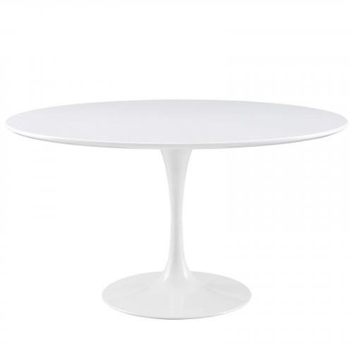 "Lippa 54"" Wood Top Dining Table"