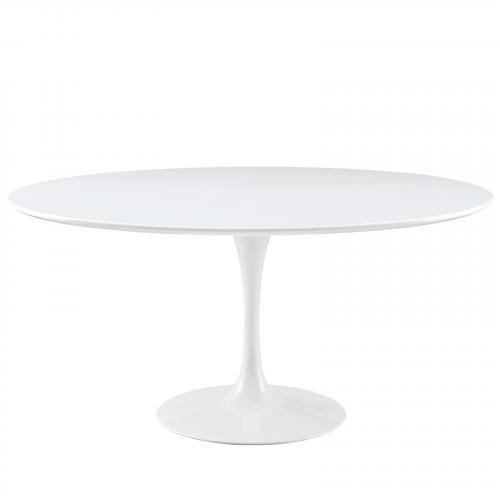 "Lippa 60"" Wood Top Dining Table"