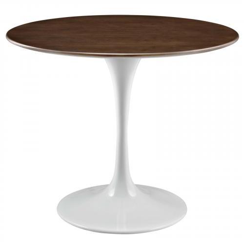 "Lippa 36"" Walnut Dining Table"