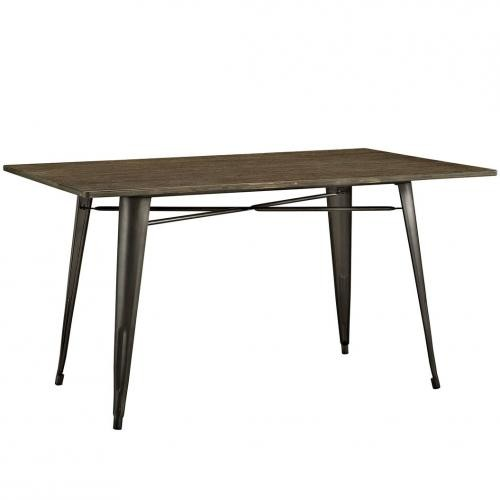 "Alacrity 59"" Rectangle Wood Dining Table"