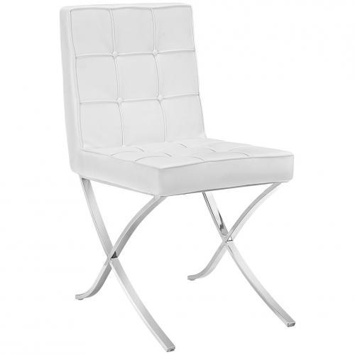 Trieste Vinyl Dining Chair