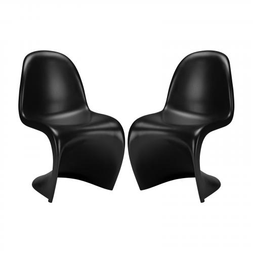 S Chair ( Set of 2)