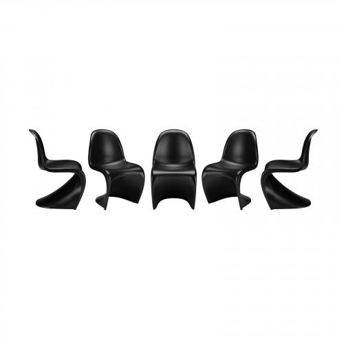 S Chair ( Set of 5)