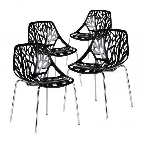 Birds Nest Dining Side Chair ( Set of 4)