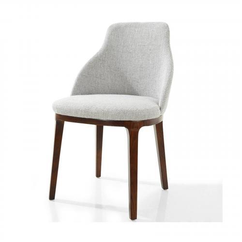 Caroline Dining Chair in Light Grey