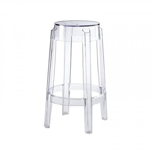 Burton Counter Stool in Clear