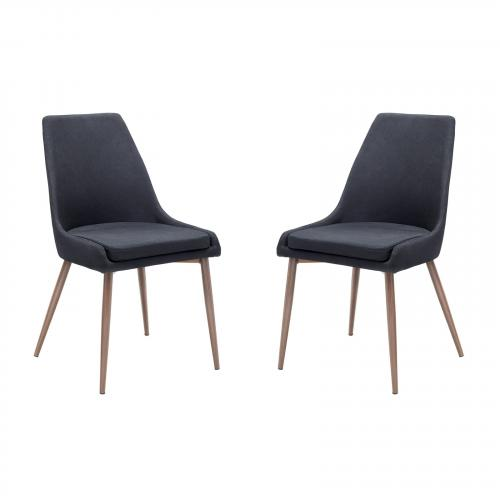 Elric Dining Chair in Black (Set of 2)