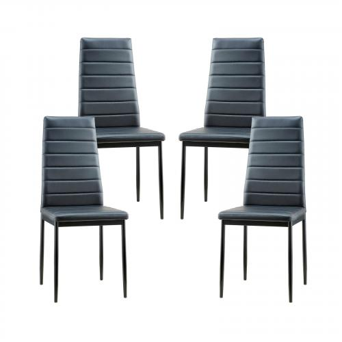 Stein Vegan Leather Dining Chair (Set of 4)
