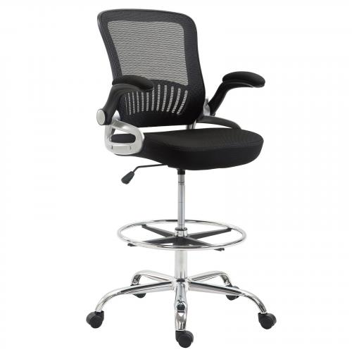 Hargrove Drafting Chair in Black